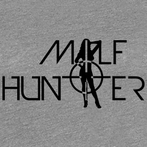 Hot Milf Hunter Sniper Logo Design T-Shirts - Women's Premium T-Shirt