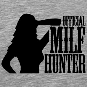Official Milf Hunter Logo T-Shirts - Men's Premium T-Shirt