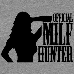 Officiell Milf Hunter Logo T-shirts - Premium-T-shirt dam