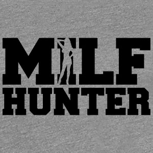 Hot Milf Hunter Design T-Shirts - Women's Premium T-Shirt