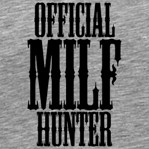 Officiell Milf Hunter T-shirts - Premium-T-shirt herr