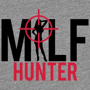Milf Hunter Sight Women Hunting T-Shirts - Women's Premium T-Shirt