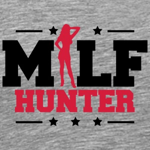 Design Milf Hunter T-shirts - Premium-T-shirt herr