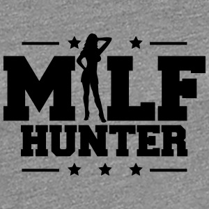 Design Milf Hunter T-shirts - Premium-T-shirt dam