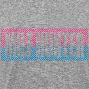 Cool Text Logo Milf Hunter T-Shirts - Men's Premium T-Shirt