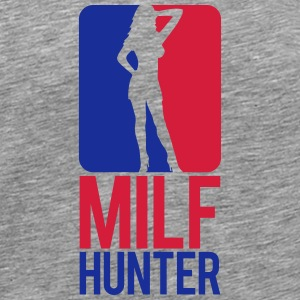 Milf Hunter Sports Logo Design Camisetas - Camiseta premium hombre