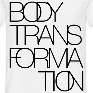 Body Transformation Fitness Muskelaufbau - Männer T-Shirt