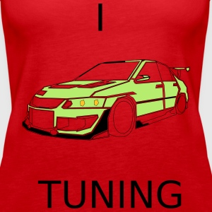 I Lova Car Tuning Tops - Vrouwen Premium tank top