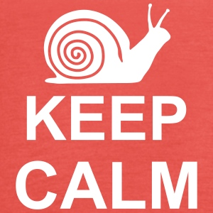 keep_calm_snail_g1 Top - Top da donna della marca Bella