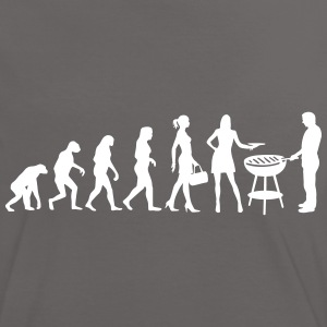 Evolution Ladies BBQ T-Shirts - Frauen Kontrast-T-Shirt