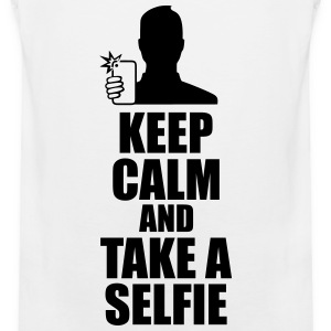 Keep Calm And Take a Selfie  Sportsklær - Premium singlet for menn