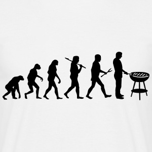 Evolution Mens BBQ T-Shirts - Männer T-Shirt