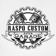 Motif ~ Casquette Raspo Custom Garage