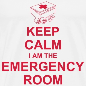 keep_calm_i_am_the_emergency_room_g1 Magliette - Maglietta Premium da uomo