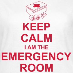 keep_calm_i_am_the_emergency_room_g1 Camisetas - Camiseta mujer