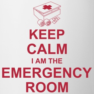 keep_calm_i_am_the_emergency_room_g1 Flaschen & Tassen - Tasse