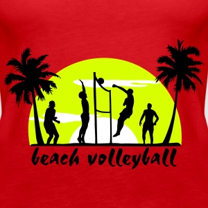 beach volleyball Tops - Dame Premium tanktop