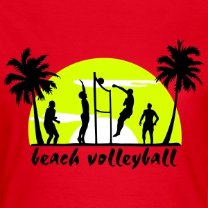 beach volleyball T-Shirts - Women's T-Shirt