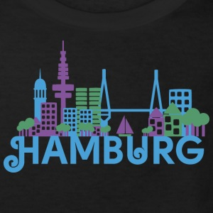 Skyline of Hamburg Shirts - Kids' Organic T-shirt