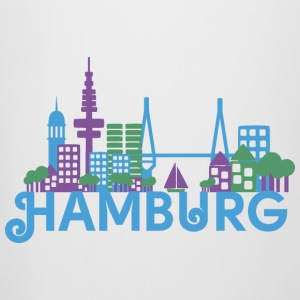 Skyline of Hamburg Mugs & Drinkware - Beer Mug