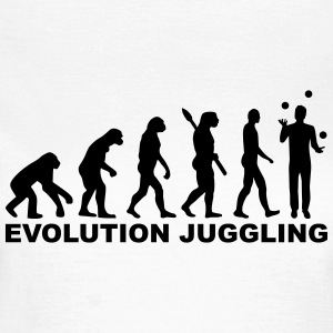Evolution Juggling T-Shirts - Frauen T-Shirt