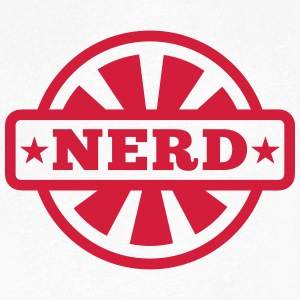 Nerd  T-Shirts - Men's V-Neck T-Shirt