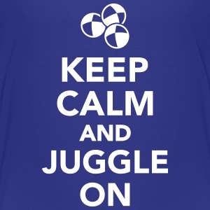 Keep calm and juggle on T-Shirts - Kinder Premium T-Shirt