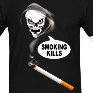 smoking kills 02 Tee shirts - T-shirt contraste Homme