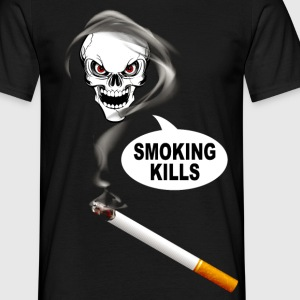 smoking kills 02 Tee shirts - T-shirt Homme