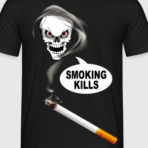 smoking kills 02 T-Shirts - Männer T-Shirt
