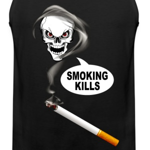 smoking kills 02 Tank Tops - Men's Premium Tank Top
