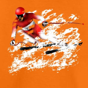 ski slalom T-shirts - Teenager premium T-shirt