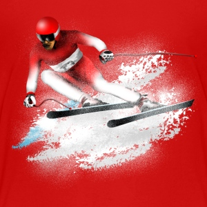 ski Slalom Shirts - Teenage Premium T-Shirt