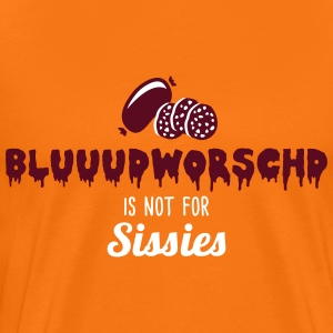 Pfalz - Not for sissies - Blutwurst - Spruch - 2C T-Shirts - Männer Premium T-Shirt