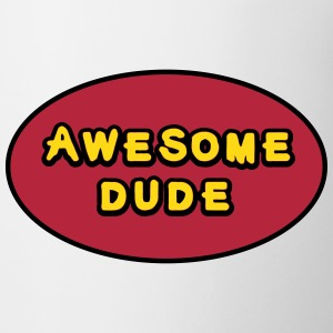 Awesome Dude, Superhero Awesome Dude Bottles & Mugs - Mug