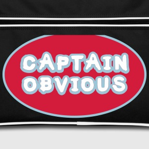 Captain Obvious, Superhero Captain Obvious Bags & Backpacks - Retro Bag
