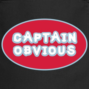 Captain Obvious, Superhero Captain Obvious  Aprons - Cooking Apron