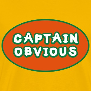 Captain Obvious, Superhero Captain Obvious T-shirts - Mannen Premium T-shirt