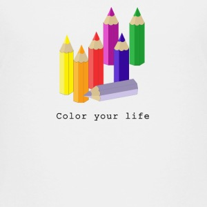 Color your life Shirts - Kinderen Premium T-shirt