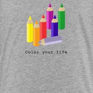 Color your life Skjorter - Premium T-skjorte for tenåringer