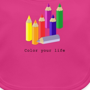 Color your life Accessories - Baby økologisk hagesmæk