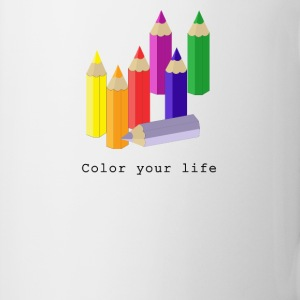 Color your life Flaschen & Tassen - Tasse