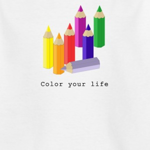 Color your life T-Shirts - Teenager T-Shirt