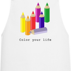 Color your life  Aprons - Cooking Apron