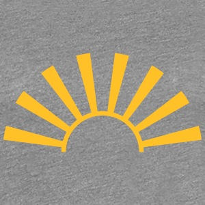 Beautiful sunbeams sunrise T-Shirts - Women's Premium T-Shirt