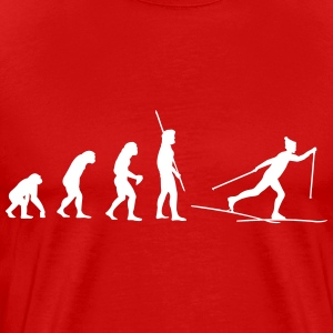 Evolution Ski Cross T-shirts - Premium-T-shirt herr