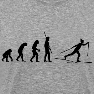 Evolution Ski Cross T-shirts - Herre premium T-shirt