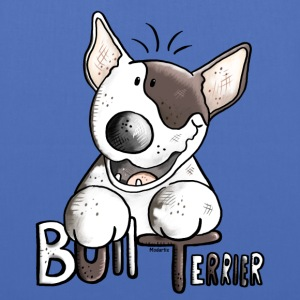 Funny Bull Terrier - Dog - Dogs Bags & Backpacks - Tote Bag