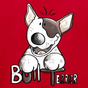 Funny Bull Terrier - Dog - Dogs Shirts - Kids' Organic T-shirt