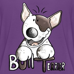Funny Bull Terrier - Dog - Dogs Shirts - Teenage Premium T-Shirt